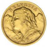 Schweiz Goldmünzen