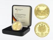 BRD 100 Euro Gold, 2008 D, Goslar, original