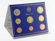 Vatikan original KMS, 2007 Stgl., im blauen Folder