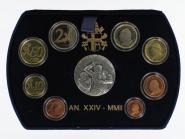 Vatikan original KMS, 2002 PP, Polierte Platte