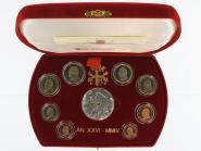 Vatikan original KMS, 2004 PP, Polierte Platte