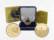 Italien 20 Euro Gold, 2007, Römische Verträge, original