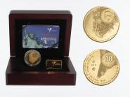 Niederlande 10 Euro Gold, 2009, New York,