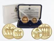 San Marino 20 €+50 € Gold, 2003, Capella komplett