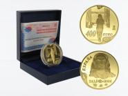 Spanien 400 Euro Gold, 2003, Salvador Dali