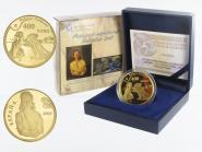 Spanien 400 Euro Gold, 2009, Dali Galarina