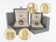 Vatikan 20 € +50 € Gold, 2006, die Firmung original