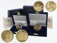 Vatikan 20 €+50 € Gold, 2007, die Eucharistie