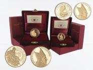 Vatikan 20 €+50 € Gold, 2008, Bildhauerkunst original