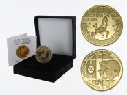 Belgien 100 Euro Gold, 2009, Hochzeit original