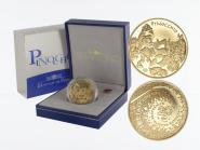 Frankreich 20 Euro Gold, 2002, Pinocchio