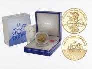 Frankreich 10 Euro Gold, 2003, Radrennfahrer