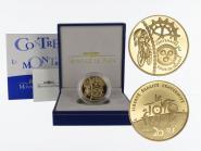 Frankreich 20 Euro Gold, 2003, Zeitfahren
