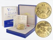 Frankreich 20 Euro Gold, 2003,  Louisiana Verkauf