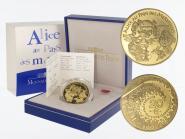 Frankreich 20 Euro Gold, 2003,  Alice im Wunderland