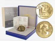 Frankreich 20 Euro Gold, 2005,  Säerin