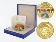 Frankreich 50 Euro Gold, 2005, Hello Kitty