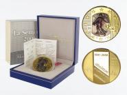 Frankreich 50 Euro Gold, 2006,  Säerin violett