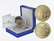 Frankreich 10 Euro Gold, 2007,  Jahr des Schweines