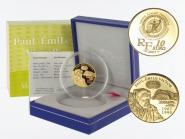 Frankreich 10 Euro Gold, 2007, Polarjahr P. Victor