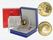 Frankreich 10 Euro Gold, 2007, Tim und Struppi