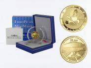 Frankreich 10 Euro Gold, 2008, Europäisches Parlament