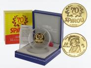 Frankreich 10 Euro Gold, 2008, Spirou