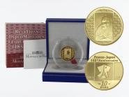Frankreich 10 Euro Gold, 2008, Japanische Malerei