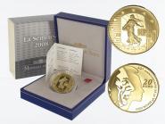 Frankreich 20 Euro Gold, 2008, Säerin
