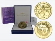 Frankreich 200 Euro Gold, 2009, Fußball WM 2010