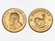 Südafrika 1 Unze  Krügerrand, 1 Oz Feingold