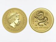 Australien 100 $ Lunar I Drache, 1 Unze  2000