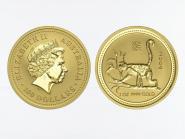 Australien 100 $ Lunar I Affe, 1 Unze  2004