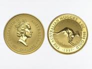 Australien 100 $ Nugget Känguru, 1 Unze  1997