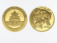 China 500 Yu  Panda 2004, 1 Unze Feingold