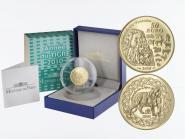 Frankreich 50 Euro Gold, 2010, Jahr des Tigers