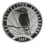 Australien 30$ Kookaburra 2009, 1 Kilo Kg  Silber
