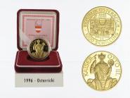 Österreich 1000 Sh. Gold, 1996, Ostarrichi