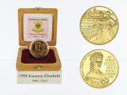 Österreich 1000 Sh. Gold, 1998, Kaiserin Elisabeth