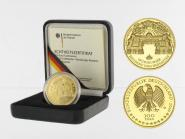BRD 100 Euro Gold, 2010 F, Würzburg, original