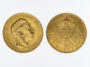 Preussen, 20 Mark Gold, Wilhelm II, 1897 A , Jg. 252