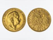 Preussen, 20 Mark Gold, Wilhelm II, 1912 A , Jg. 252