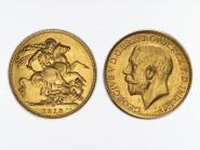 George V/Reiter 1918, M (Melbourne Australien)