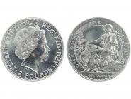 GB 2 Pfd. Silber Britannia 2005, 1 oz