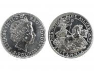GB 2 Pfd. Silber Britannia 2009, 1 oz