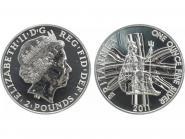 GB 2 Pfd. Silber Britannia 2011, 1 oz