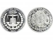 Somaliland 1000 Sh. Drache  2012, 1 Unze Silber