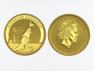 Australien 50 $ Nugget Känguru, 1/2 Unze  2012