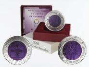 Österreich 25 Euro Niob, Fernsehen 2005