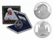 Vatikan 5 € Rosenkranzjahr  2003 PP, Silber